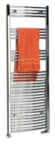 500x1118 mm,округлая форма, хром