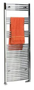 600x1760 mm, округлая форма,хром