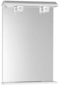 EKOSET зеркало с подсветкой 50x75x12cm, белый