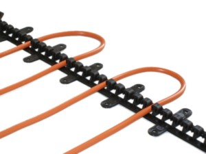 Пластиковые T-планка для фиксации кабеля, 50см