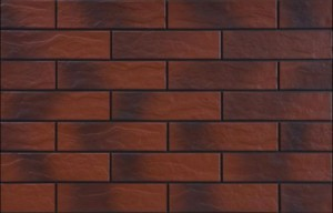 ПЛИТКА ФАСАДНАЯ Rot RUSTYKALNA CIENIOWANA 24,5 x 6,5 см