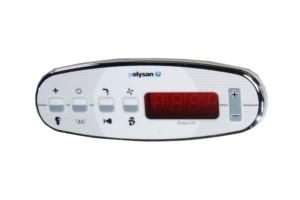 HM System HYDRO, Тип панели управления B-цифровой