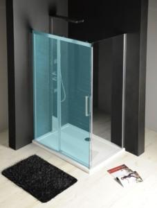 боковая стенка 800 мм, прозрачное стекло