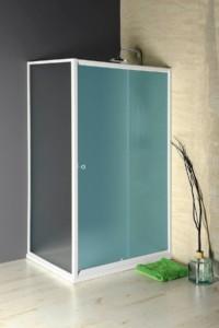 боковая стенка 900 мм, стекло BRICK