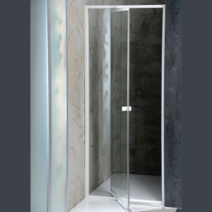 душевые двери навесная 1040-1220x1850 мм, прозрачное стекло