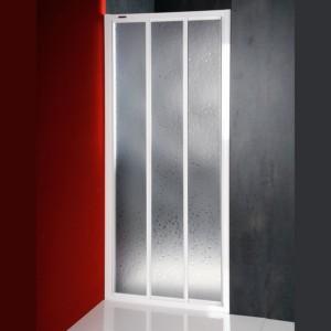 двери раздвижные 1000mm, белый профиль,
