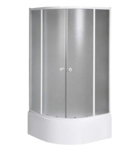Угловая душ кабина 900x900x1500 мм, стекло BRICK