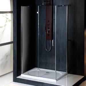 1100x700mm, левая, прозрачное стекло