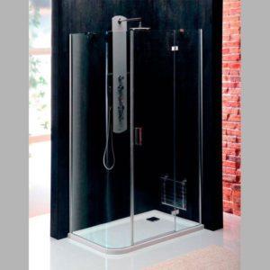 1200x800 мм, правая, овальная, прозрачное стекло