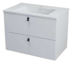 ТУМБА С УМЫВАЛЬНИКОМ 74,5x55x45,2 см, белый