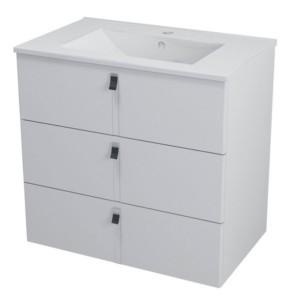 ТУМБА С УМЫВАЛЬНИКОМ 89,5x70x45,2 см, белый