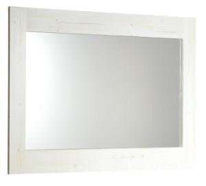 BRAND ЗЕРКАЛО 1000x800x20mm, белый состаренный