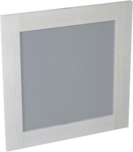 BRAND ЗЕРКАЛО 800x800x20mm, белый состаренный