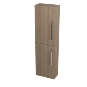 КАЛИ шкафчик высокий 40x140x20cm, левая правая, орех бруно