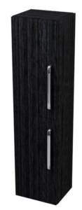 PURA шкафчик высокий 35x140x30cm,графит