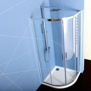 душевая кабина 800x800mm, прозрачное стекло