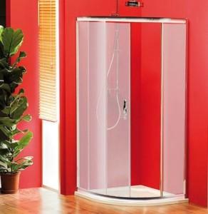 душ экран 900x900 мм, R550, 1 дверь, стекло Brick