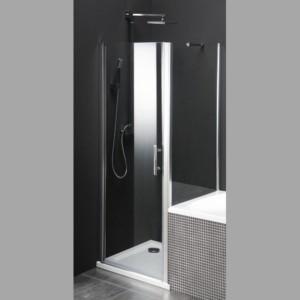 душ экран, разделяющей ванну и душ, 800x800 мм, прозрачное стекло