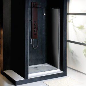 душевая дверь 1000mm, правый, прозрачное стекло