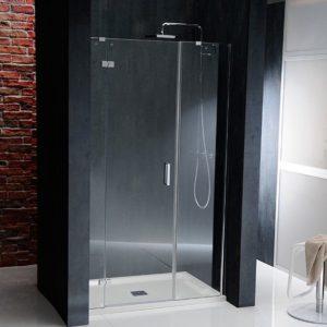 душевая дверь 1200 мм, левый, прозрачное стекло