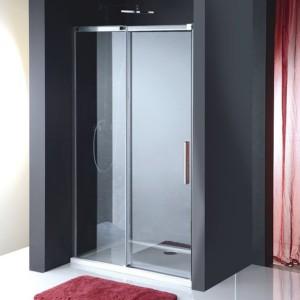 Душевая дверь 1200 мм, прозрачное стекло