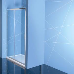 душевая дверь 1300mm, прозрачное стекло