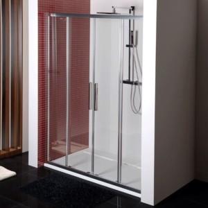 душевая дверь 1600mm, прозрачное стекло