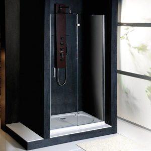 душевая дверь 900мм, правый, прозрачное стекло