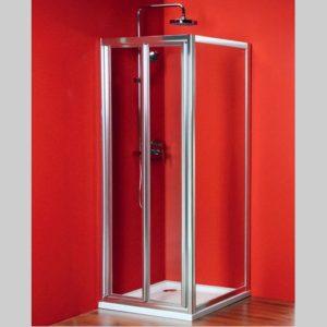 душевой уголок 900x900mm Л П вариант, складные двери
