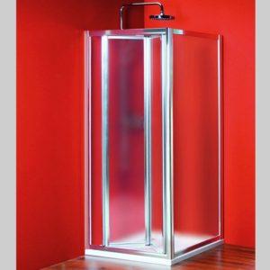 душевой уголок 900x900mm Л П вариант, складные,стекло Brick