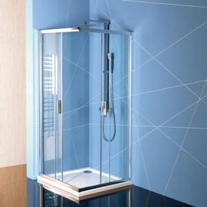 душевая кабина 900x900mm, прозрачное стекло