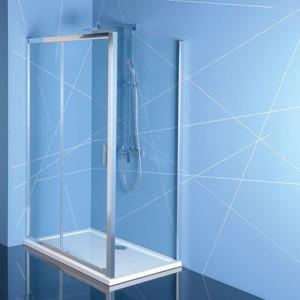 душевая кабина 1000x900mm, прозрачное стекло