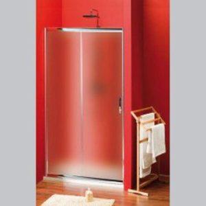 раздвижные двери 1100 мм, стекло Brick