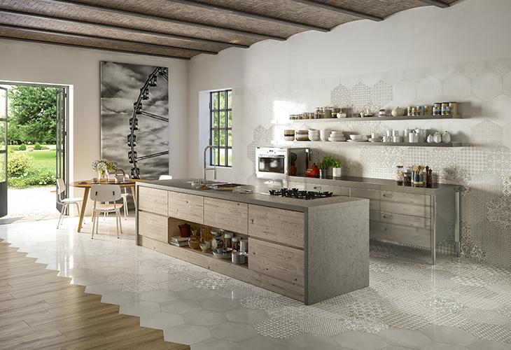 Итальянская плитка Baykerколлекция OLTREMARE