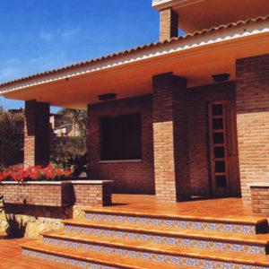 Испанская плитка Gres de Aragon коллекция ALBANY SIENA