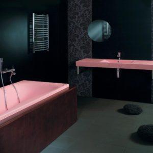 Латвийская акриловая ванна PAA коллекция PRELUDE