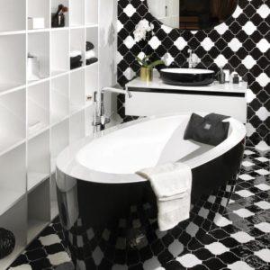 Латвийская акриловая ванна PAA коллекция ARIA