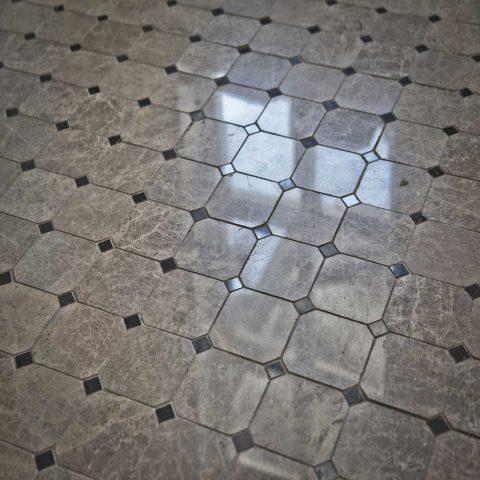 Мозаика из натурального камня коллекция Octagon
