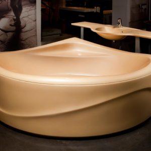 Латвийская акриловая ванна PAA коллекция RUMBA