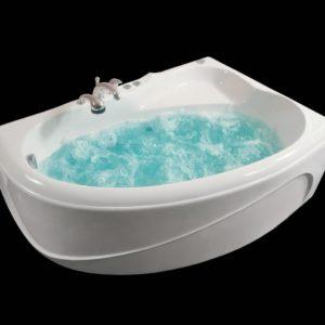 Латвийская акриловая ванна PAA коллекция VIOLA