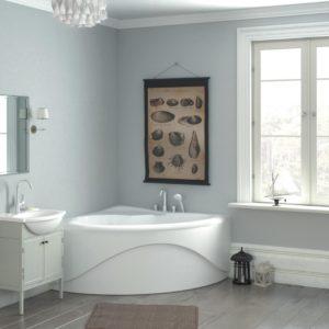 Латвийская акриловая ванна PAA коллекция CAMILLA