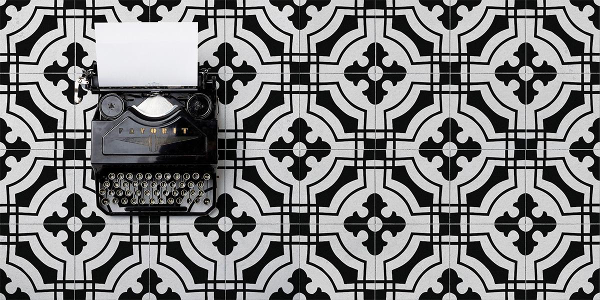 Итальянская плитка Valmori коллекция Hydraulicart ♥ Crosswords