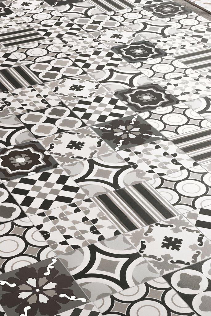 Итальянская плитка Santagostino коллекция BLACK&WHITE