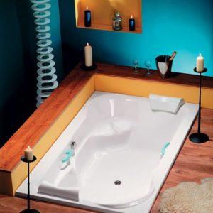 Акриловая ванна коллекция DUO