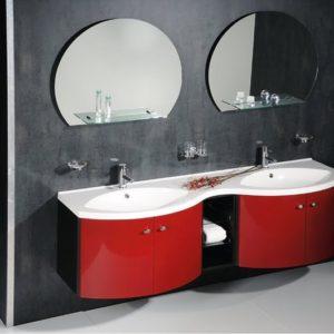 Чешская мебель для ванной комнаты коллекция AILA