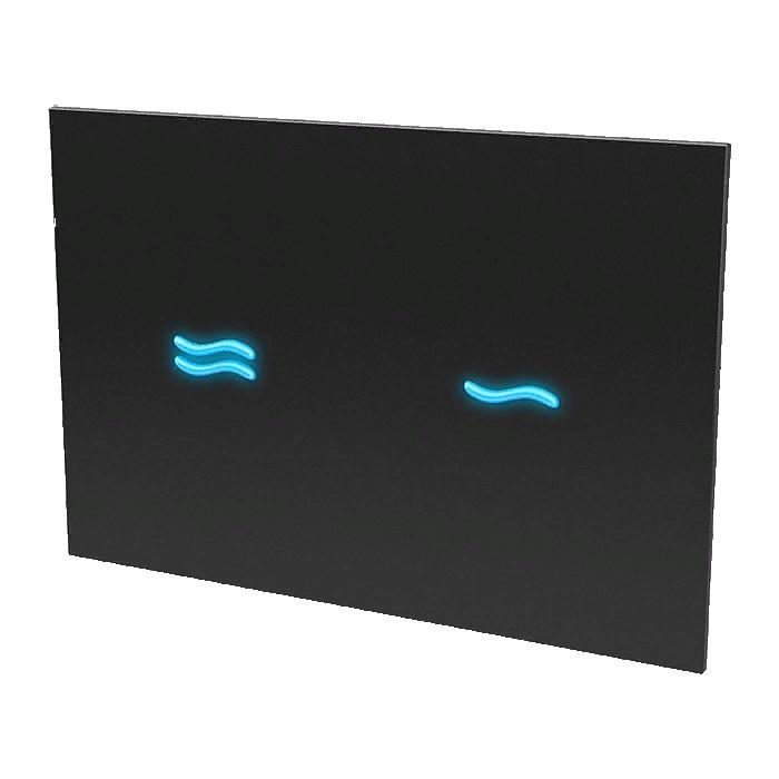 Электронно сенсорное устройство спускаводы для инсталляции с бачком