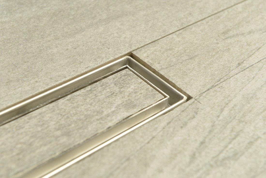 Трап для душа из нержавеющей стали для плитки