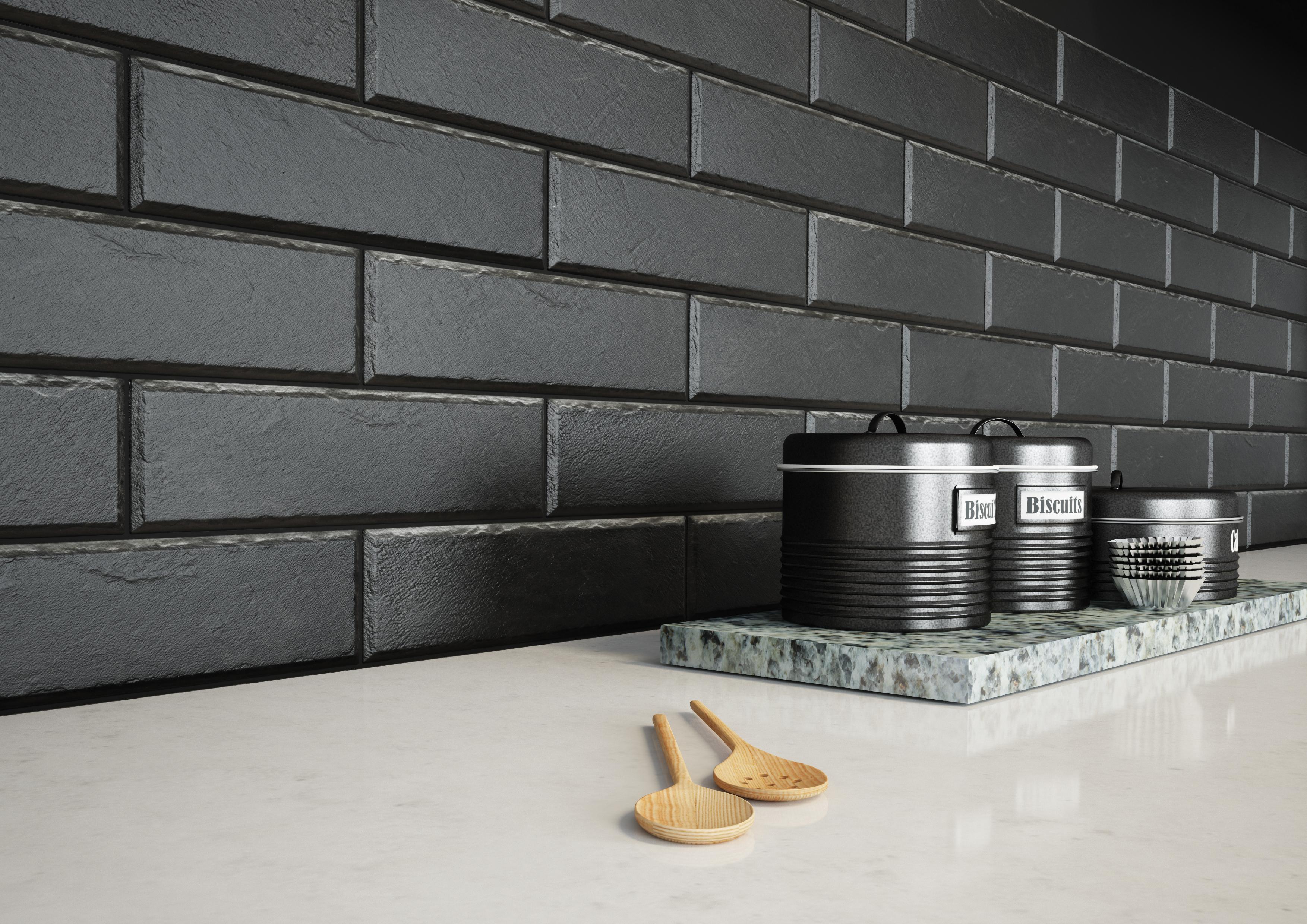 плитка фасадная польская фабрика Cerrad коллекция Foggia nero
