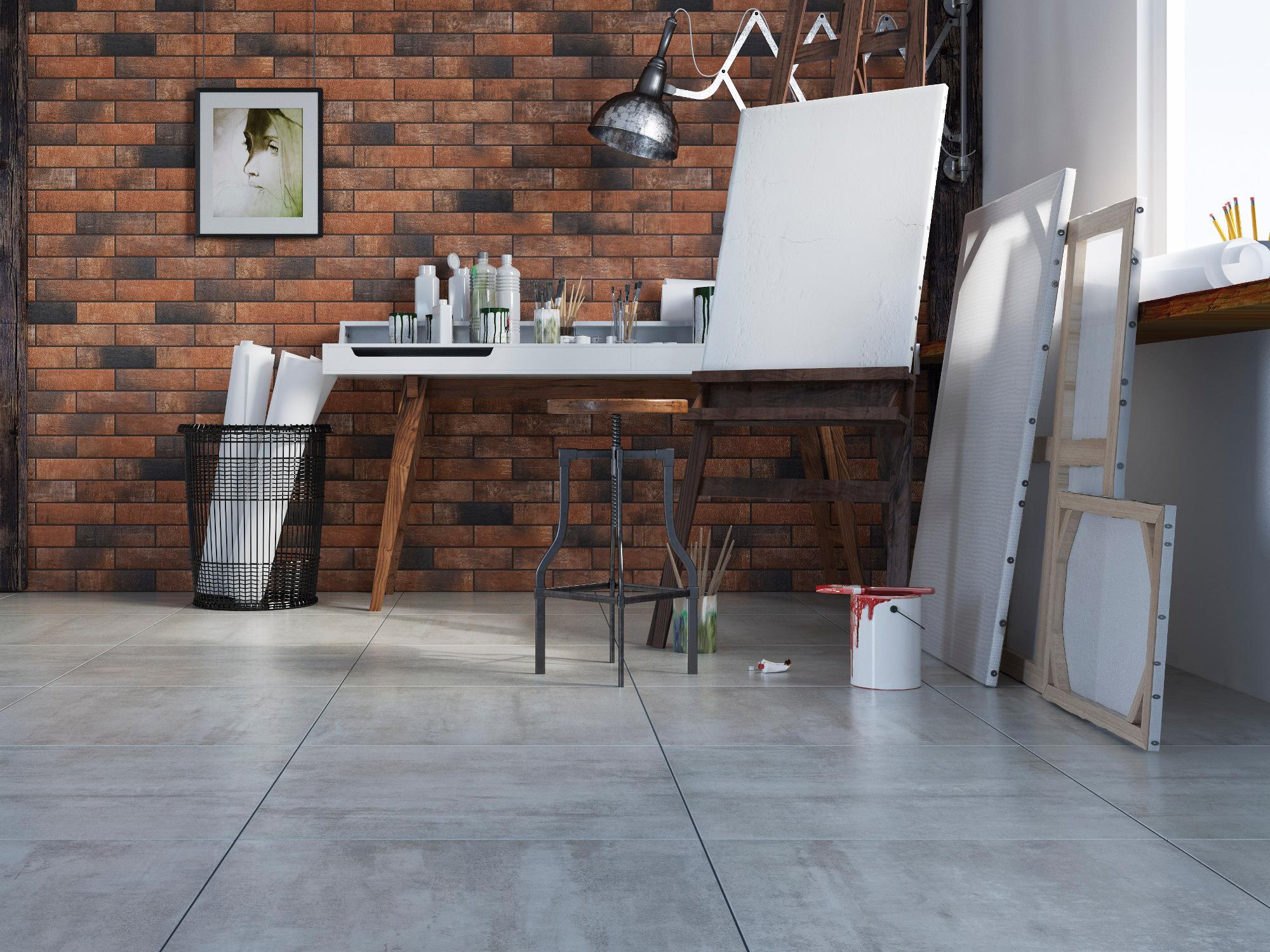 плитка фасадная польская фабрика Cerrad коллекция Loft Brick Chili