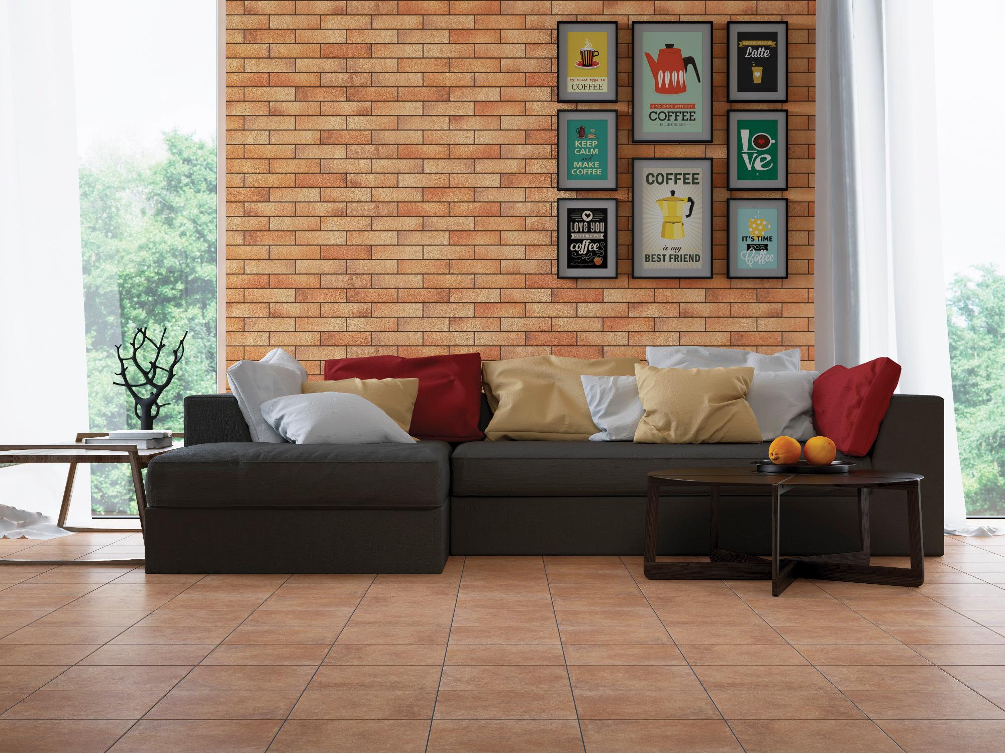 плитка фасадная польская фабрика Cerrad коллекция Loft Brick Curry